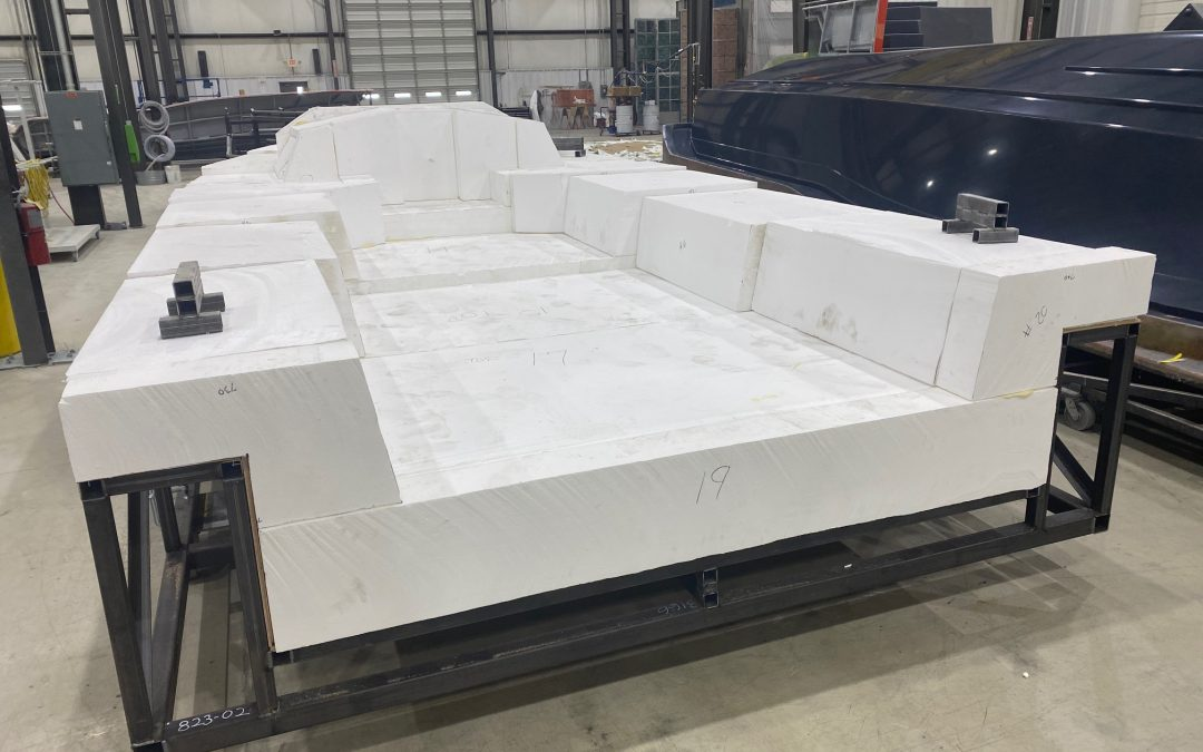 Mold Development for the Moore 33